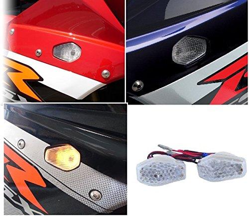 cat1986cat1986 motorcycle flush mount led turn signal clear lens for aftermarket universal bike suzuki gsxr cat1986cat1986® cat1986cat198619864
