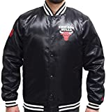 New Era NBA Chicago Bulls Tip Off Sateen Bomber College Jacket Jacke