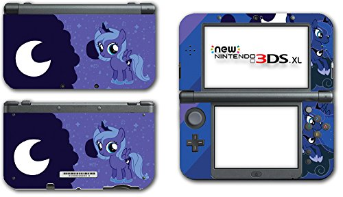 My Little Pony Friendship is Magic MLP Princess Luna Filly Video Game Vinyl Decal Skin Sticker Cover for the New Nintendo 3DS XL LL 2015 System Console