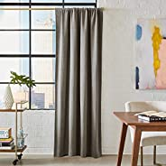 "Amazon Brand – Rivet Casual Rustic Curtain, 84"" x 52&q"