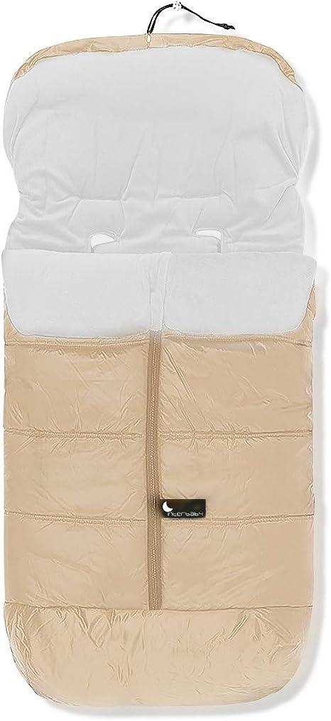 Interbaby 10024-05 - Saco de abrigo universal, Beige: Amazon.es: Bebé