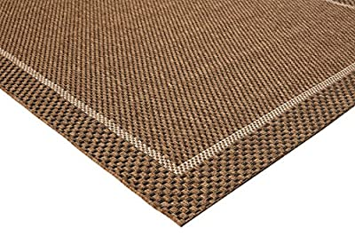 Balta Rugs 39013073.240305.1 Wellington Brown Indoor/Outdoor Area Rug, 8' x 10'