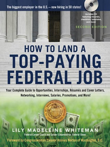 Buy cheap how land top paying federal job your complete guide opportunities internships resumes and cover letters