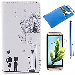 Couples Dandelion Pattern PU Leather Full Body Case by ruishername