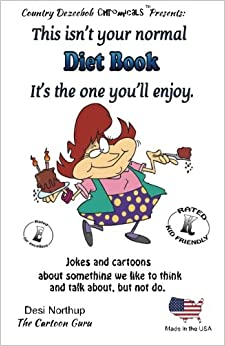 Book DIET BOOK It's one you'll enjoy. Jokes and Cartoons: in Black + White