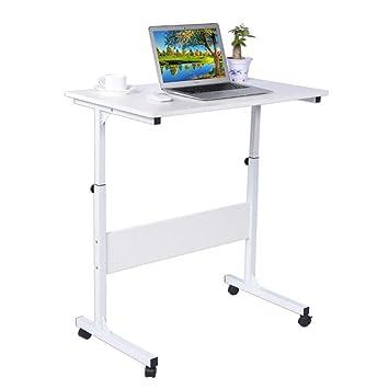 Genérico Ajustable Altura Teclado de Escritorio Portátil Trolley Laptop Sofá Bandeja Mesa Ordenador Ajustable Altura Portátil Carrito L: Amazon.es: ...
