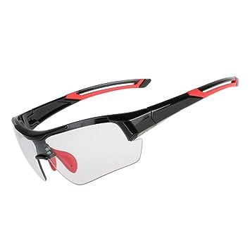 DAYANGE Gafas De Ciclismo Fotocromáticas Gafas De Decoloración MTB Road Bike Sport Gafas De Sol Bike