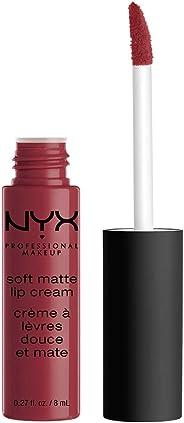Labial mate, Soft Matte Lip Cream, Nyx Professional Makeup ,Tono Budapest ,8ml