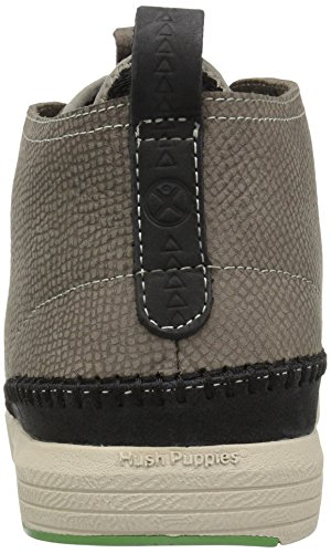 Hush Puppies Mens Layton Genius Boot Grigio Nubuck