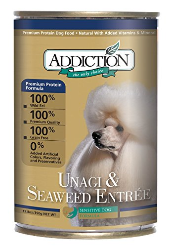Addiction Unagi & Seaweed Entrée Grain Free Canned Dog Food, 13.8 oz. (12-pack)