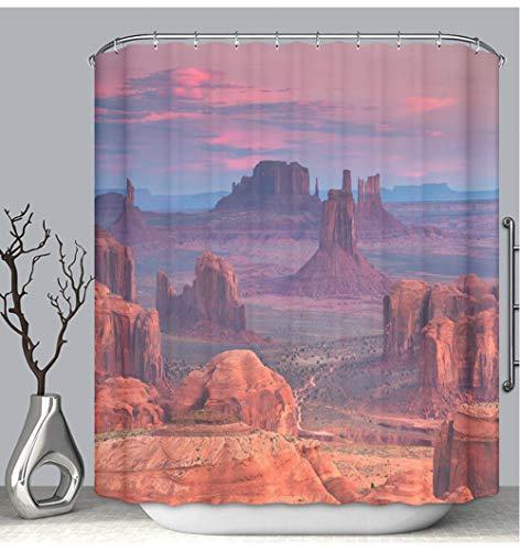 (BEICICI Color Shower Curtain Liner Anti-Mildew Antibacterial Hunts Mesa Navajo Tribal Majesty Place Near Monument Valley Arizona USA Custom Shower Curtain Bathtub Bathroom Accessories 48W×72Linch)