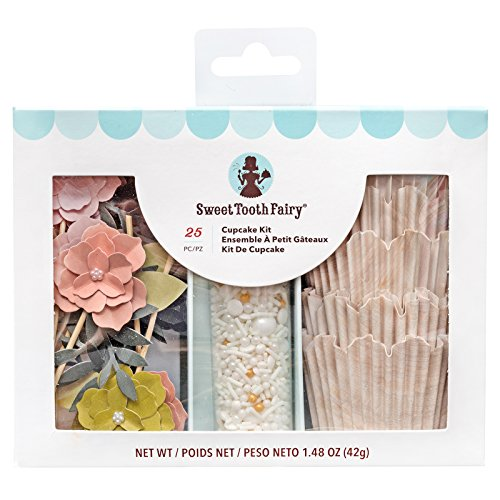 - Sweet Tooth Fairy 345580 Floral Cupcake Kit, Multi