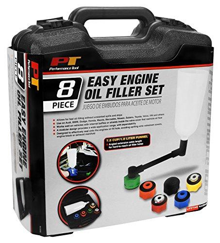 Performance Tool W54090 8Pc Engine Oil Filler Set 8Pc Engine Oil Filler Set by Performance Tool (Image #3)