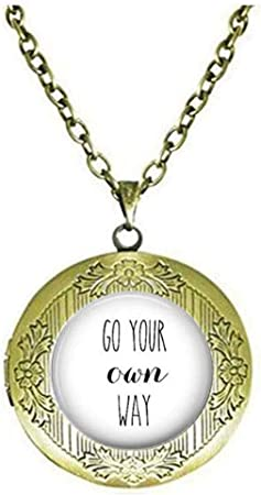 Go Your Own Way Necklace