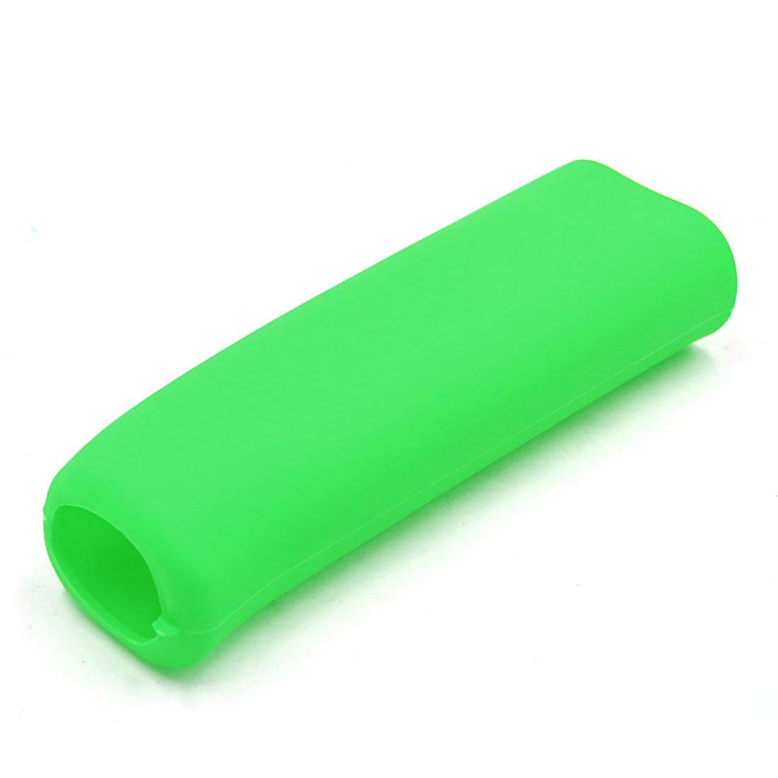 sourcing map Manchon de frein /à main en silicone voiture vert universel levier protecteur