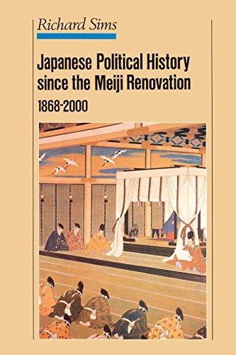 Japanese Political History Since the Meiji Restoration, 1868-2000