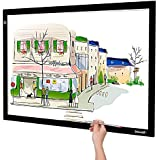 A2 Light Box, Large Size Tracing Light Pad, Ultra-Thin LED Light Board Stepless Brightness and Flicker-Free Design, Perfect for Drawing, 2D Animation, Calligraphy, Embossing, Sketching Tattoo