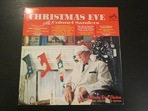 Colonel Sanders ~ Christmas Eve LP (With Colonel Sanders Christmas)