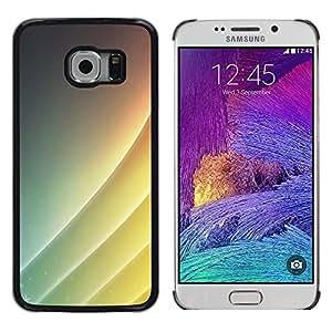 LECELL--Funda protectora / Cubierta / Piel For Samsung Galaxy S6 EDGE -- Simple patrón --