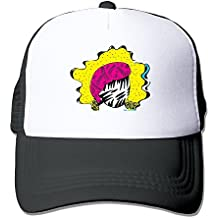 Unisex Sonny & The Sunsets Adjustable Trucker Cap Black