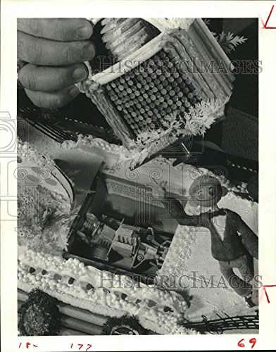 1979 Press Photo Model of a Float At the Tournament of Roses Rose Bowl Parade ()