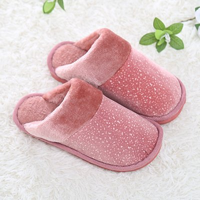 Cotone fankou pantofole coppie soggiorno multi-colore di spessore, antiscivolo pantofole di cotone coppie e ,4243, Colore