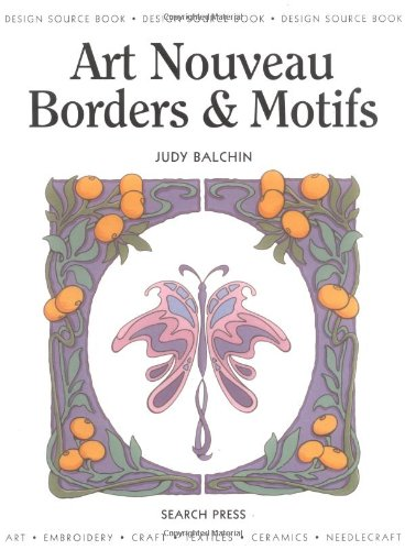Art Nouveau Borders & Motifs (Design Source Books) pdf