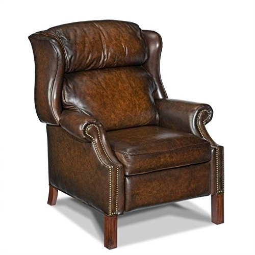 Cheap Hooker Furniture Finley Recliner, Brown