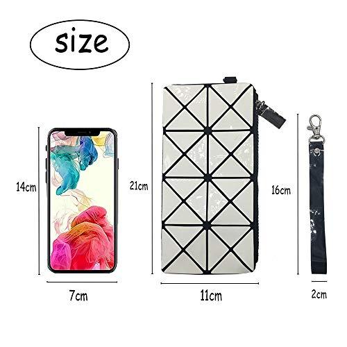 del geométrico de del Blanco del cosmético Maquillaje los teléfono Bolso del Modelos Bolso Bolso Bolso zXaEU