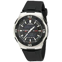 Casio Men's AQ164W-1AV Ana-Digi Sport Watch