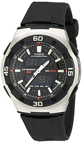 Casio Men's AQ164W-1AV Ana-Digi Sport Watch ()