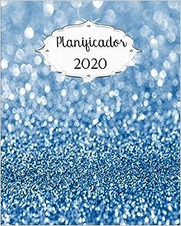 Planificador 2020: Azul Calendarios diarios, semanales y ...