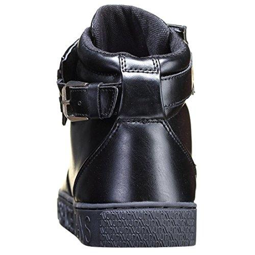 Versace Jeans Linea Sneaker Lettering Rivestimento E0yobse3m27 Nero, Turnschuhe - 39 Eu