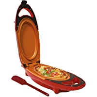 Plaque de Cuisson électrique Chef à Deux Couches de 5 Minutes, poêle pour Omelette antiadhésive, Comprend Une spatule et Un Guide de Recettes