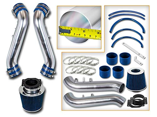 /… with Filter Filter Combo BLUE For 90-96 Nissan 300zx 3.0L NA Rtunes Racing Short Ram Air Intake Kit