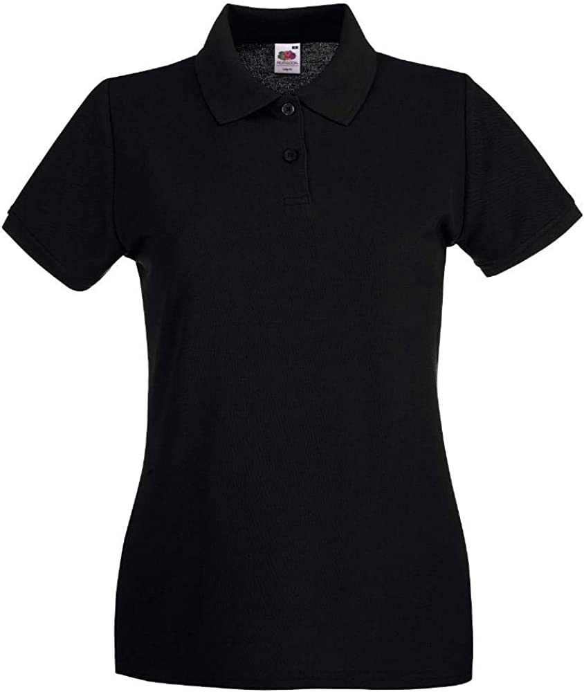 Polo Manica Corta Fruit Of The Loom Donna