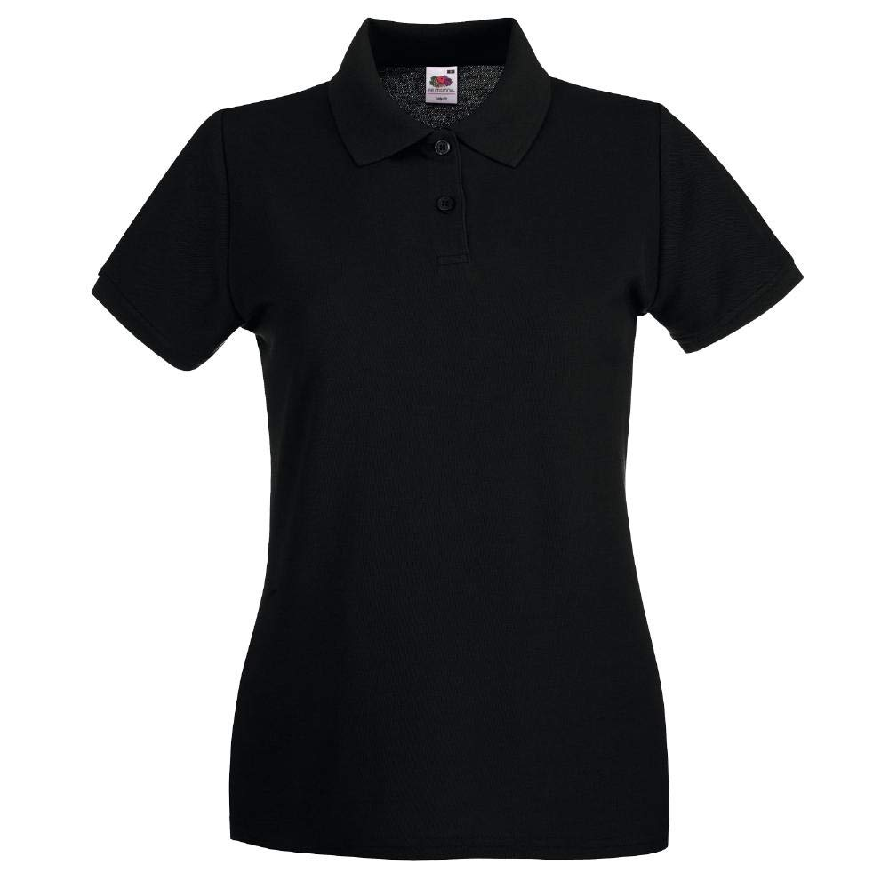 Fruit of The Loom Lady-Fit Premium - Camiseta de tipo polo para ...