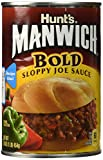 MANWICH (BOLD) Sloppy Joe Sauce 16oz 3pack