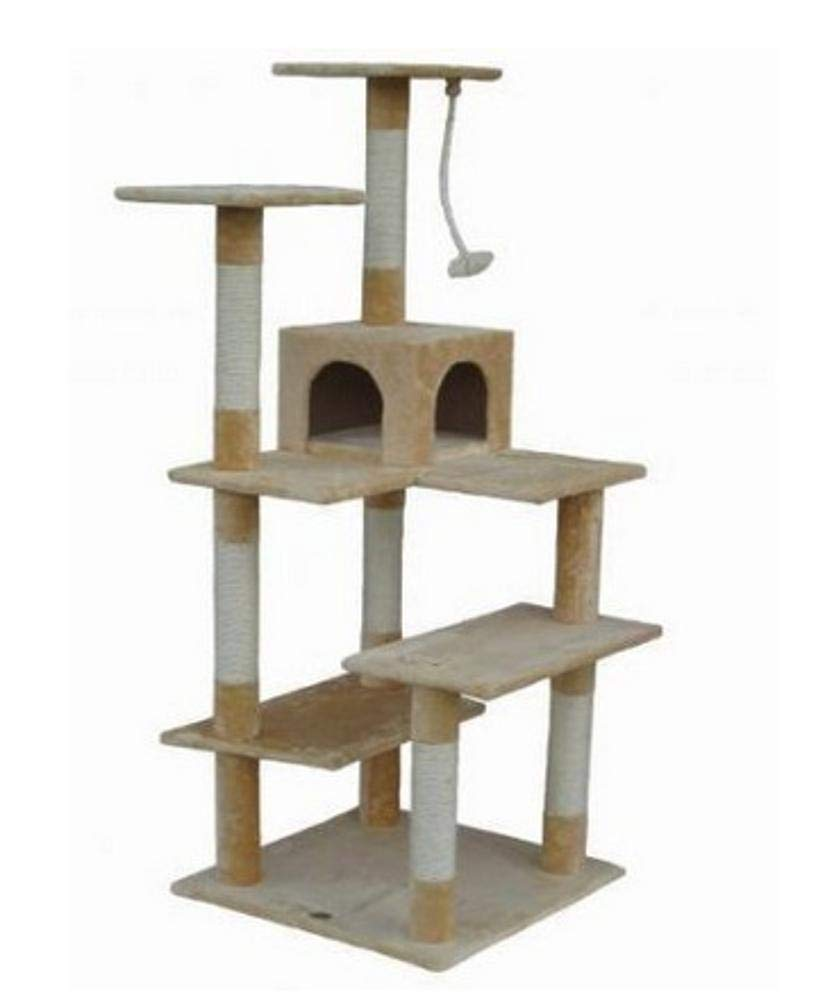 Aoligei alberi tiragraffi per gatti Multistrato gatto artiglio rettifica giocattolo gatto lettiera gatto gatto graffiare Board gatto Jumping pet giocattolo 50  60cm  170