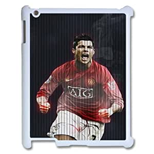 IPad 2,3,4 Phone Case for Cristiano Ronaldo pattern design GQCSRNAD851998