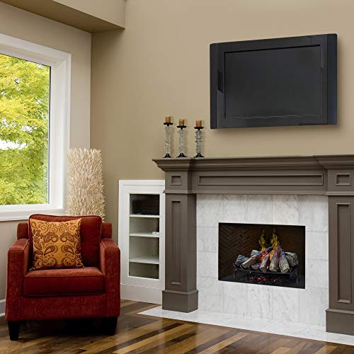 Dimplex Dlgm29 Opti Myst Open Hearth Fireplace Insert With Faux Logs