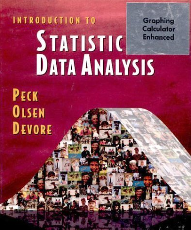 Introduction to Statistics and Data Analysis (with CD-ROM) 1st edition by Peck, Roxy, Olsen, Chris, Devore, Jay L. (2000) Hardcover