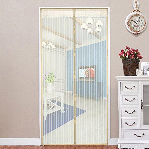 - BGH Magnetic screen door keeps mosquito net screen door away from mosquito net balcony sliding patio screen -B 100x220cm(39x87inch)