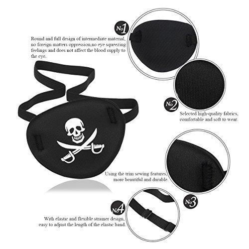 Pirate Eye Mask - 7