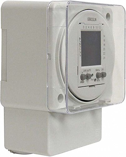 Intermatic - FM1D20A-120 - Electronic Timer, 16 Amps, 120VAC Voltage, Operation Mode: 24 hr./7 Days, Number of Channels: 1 (Intermatic 24 Hr Electronic)