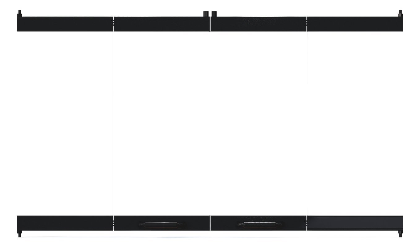 36'' Fireplace Glass Door Set To Fit Heatilator Unit by Pathline Products (Image #2)
