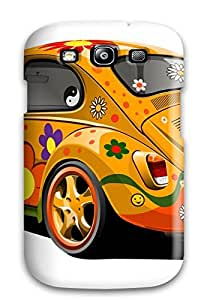 (dthvi1739WkDKT)durable Protection Case Cover For Galaxy S3(hippie)