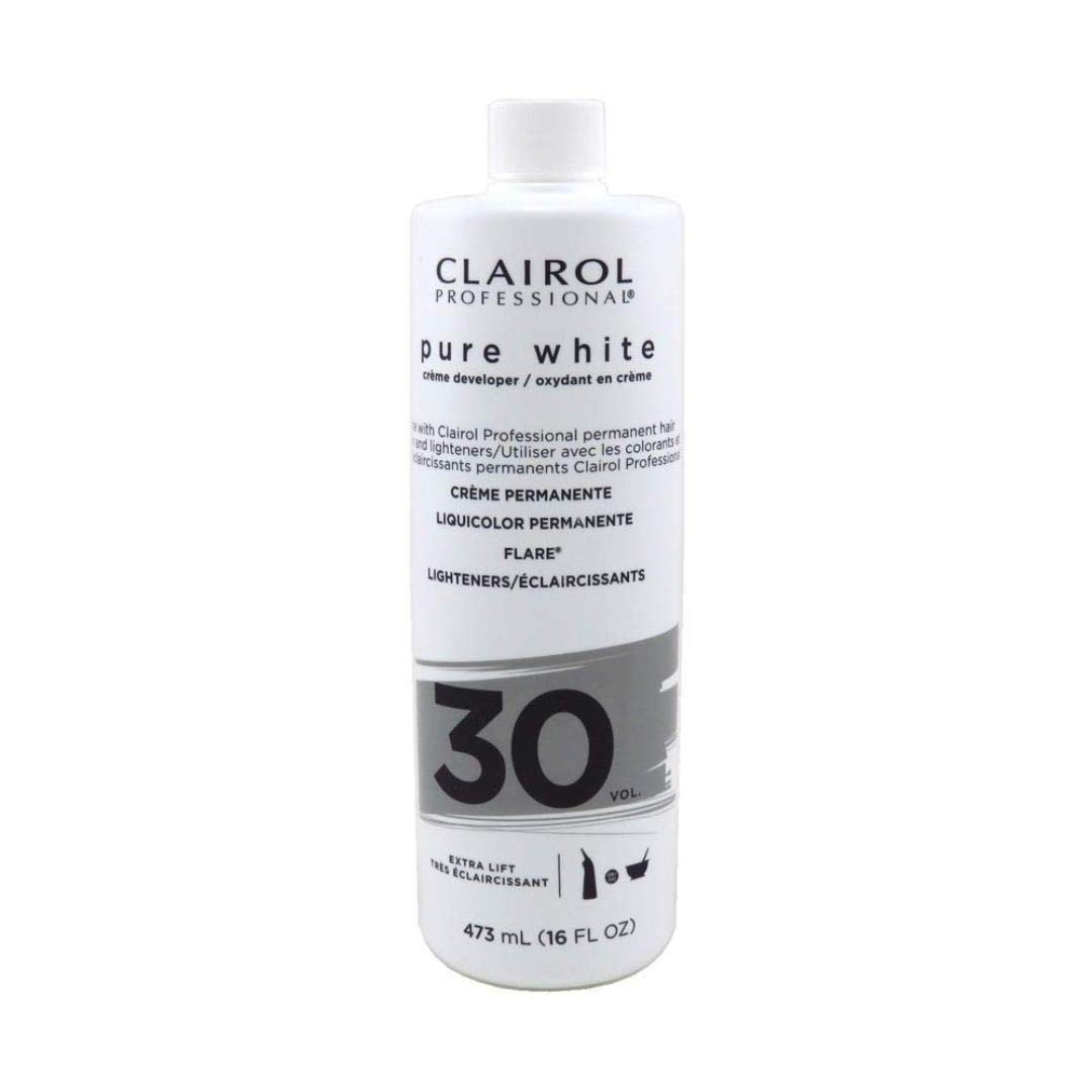 Clairol Professional - Pure White Creame Developer 30 Volumer 16 Oz