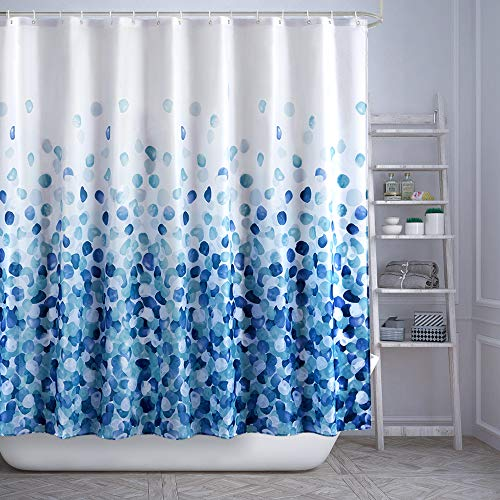 ARICHOMY Shower Curtain Set, Bathroom Fabric Curtains Waterproof Colorful Funny with Standard Size 72 by 72 - Curtain Shower Fabric Wide