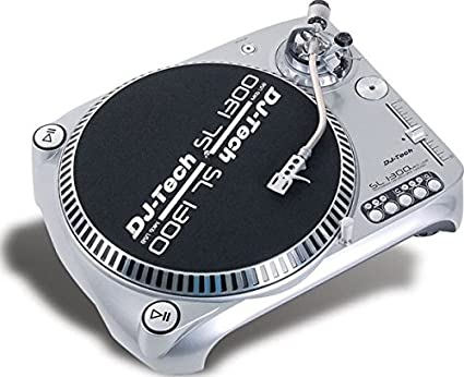 Amazon.com: DJ TECH sl1300mk6usb Direct Drive USB Turntable ...